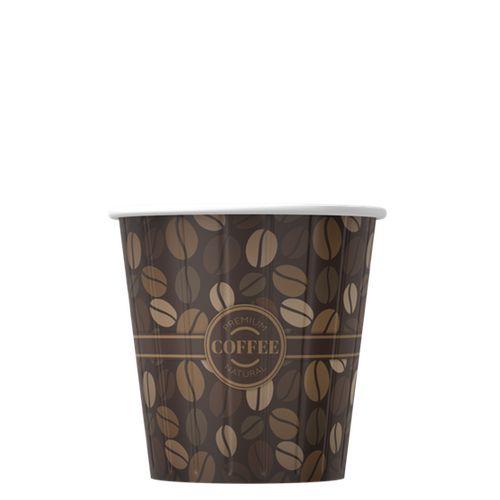 Kelímky na kávu Premium káva 100ml (4oz) 1000ks