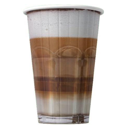 Papírové kelímky na kávu Latte 400ml (16oz) 1000ks