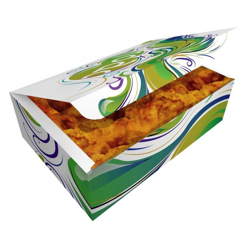 Papírová potravinová krabička 160x100x60mm - 1000ks