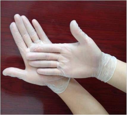 Jednorázové vinylové rukavice skladem