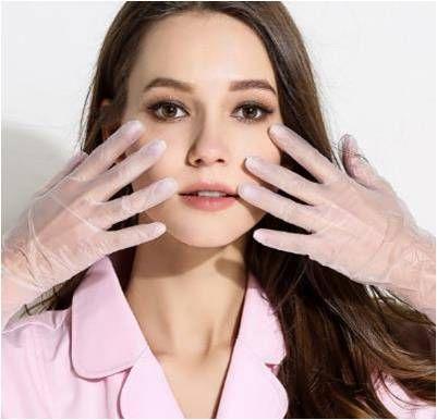 Jednorázové vinylové rukavice (do 2dnů)