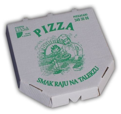 Krabice na pizzu 330x330x30mm