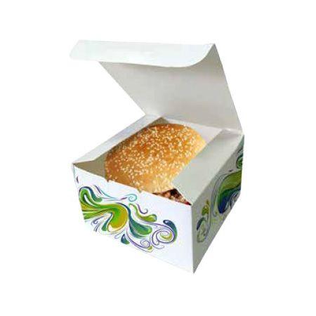 Krabička na hamburger 130x130x80mm - 1000ks