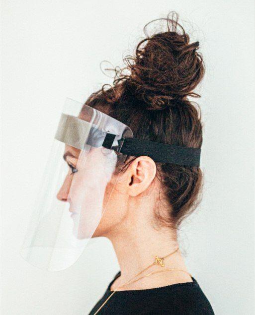 Ochranný obličejový štít CPC 011 s logem - 100ks