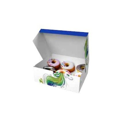 Krabice na dorty 220x180x80mm - 1000ks
