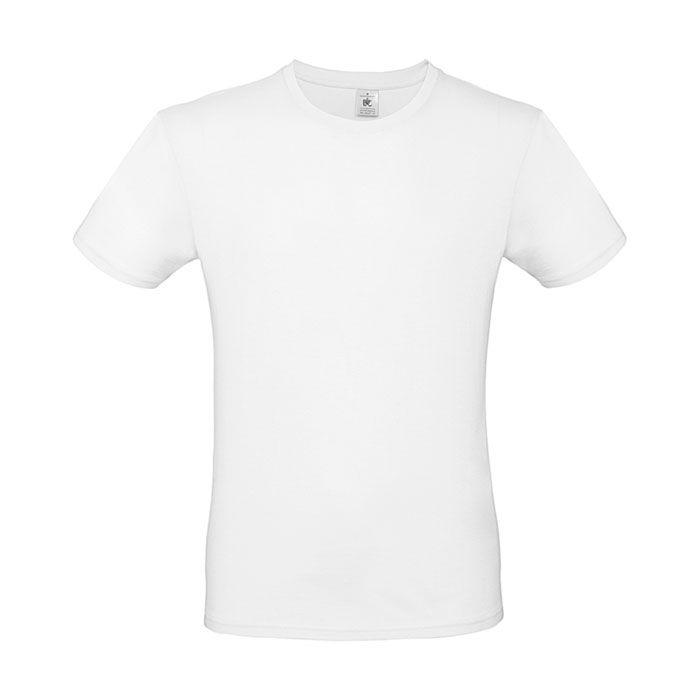 Bavlněné tričko BC 0015 bílé 50ks