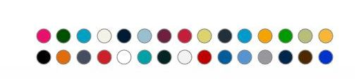 Bavlněné tričko BC 0015 barevné 30ks