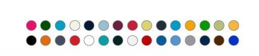 Bavlněné tričko BC 0015 barevné 50ks