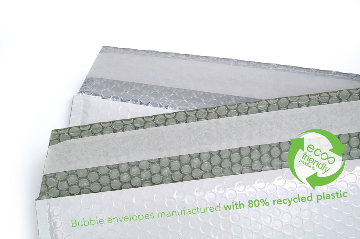 Recyklované obálky 16,5cm lesklé - 300 ks
