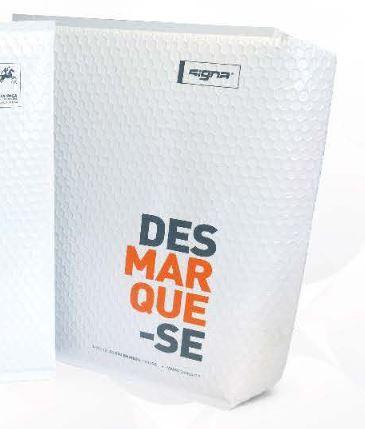 Recyklované plastové obálky C4 lesklé - 5000 ks