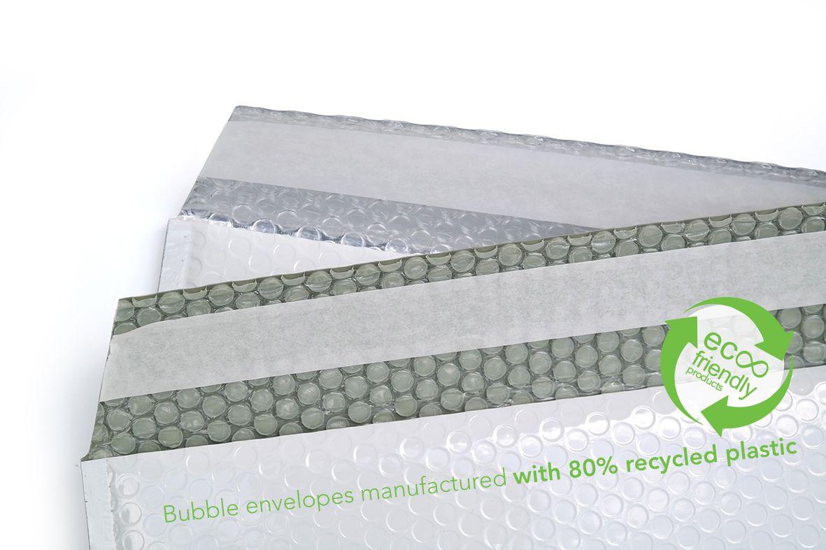 Recyklované obálky 16,5cm lesklé
