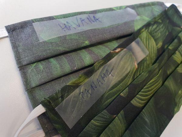 Ochranná rouška Panama na tkanice 500ks