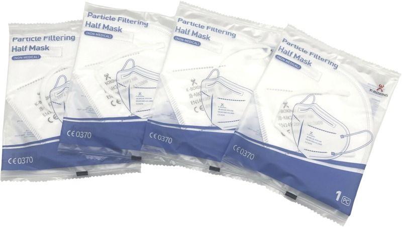 Antivirové respirátory FFP2 pro reklamní potisk 1 barvou