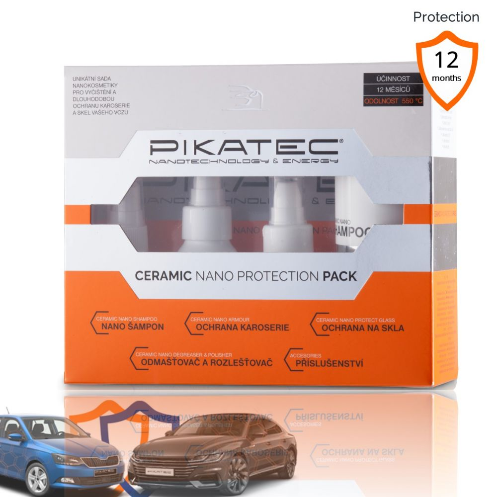 Nanokosmetika na auto Pikatec sada Ceramic 35ks
