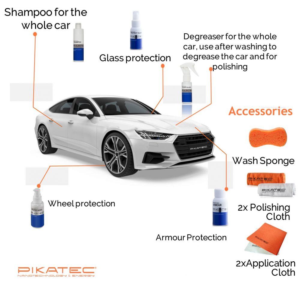 Nano autokosmetika Pikatec sada Diamond