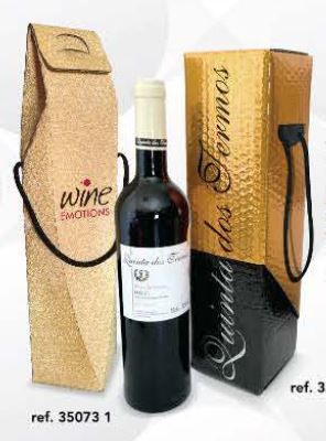 Recyklované obaly na víno 1 láhev