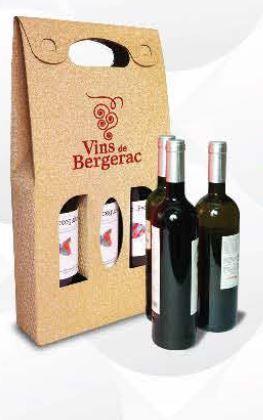Recyklované obaly na víno 3 lahve - 500ks
