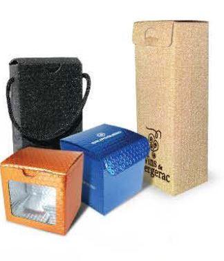 Recyklovaný ekologický obal Krabice