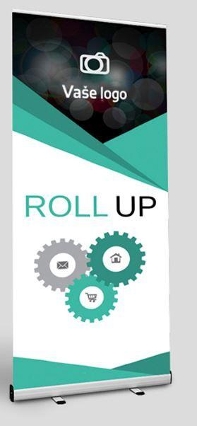 Roll up, tisk 100 x 200 cm