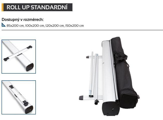 Roll up, tisk 150 x 200 cm