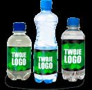 Reklamní vody s potiskem etikety